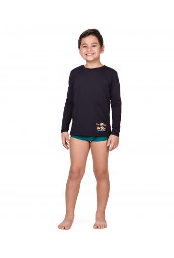 Camiseta Infantil Masculina com proteção UV 50+ Ref: 0405